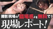無料の現場「生」リポート!